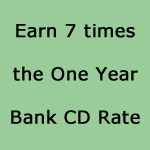 Reliable Income paying 7x the 1 year Bank CD rate with discounted designer annuities
