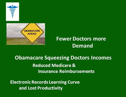 Obamacare Squeezing Physicians Incomes and Stress Levels