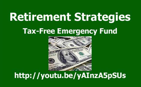 Living Benefits Life Insurance known as a  Tax-Free IUL can work as a tax-free emergency fund. You can access your money tax-free penalty free at any age for any reason.